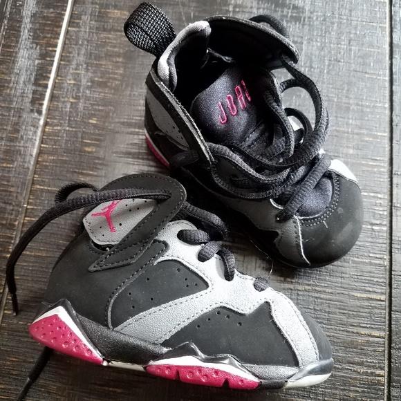 save off 09ce9 cad8d Air Jordan 7 Retro Girl Toddler/Baby 5c
